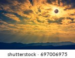 amazing scientific natural... | Shutterstock . vector #697006975
