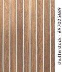wooden texture background. teak ... | Shutterstock . vector #697025689