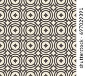 abstract seamless pattern.... | Shutterstock .eps vector #697029391