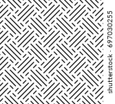 seamless abstract patterns.... | Shutterstock .eps vector #697030255