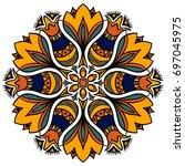 mandala. decor for your design  ...   Shutterstock .eps vector #697045975