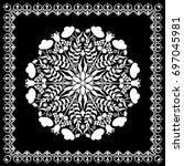 mandala. decor for your design  ...   Shutterstock .eps vector #697045981