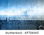 High Tech Technology Background