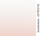 vector beige pattern. geometric ... | Shutterstock .eps vector #697091731