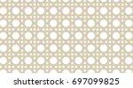 geometric shape pattern | Shutterstock . vector #697099825