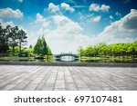 the beautiful park | Shutterstock . vector #697107481