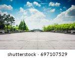 the beautiful park | Shutterstock . vector #697107529
