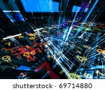 conceptual interplay of... | Shutterstock . vector #69714880