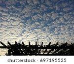 stunning cloud  thailand | Shutterstock . vector #697195525