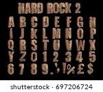 Alphabet Made Form Rock.
