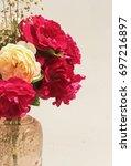 flowers bouquet | Shutterstock . vector #697216897