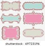 decorative  labels suitable for ...