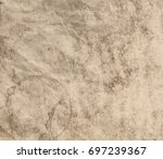 old paper texture background.... | Shutterstock . vector #697239367