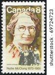 canada   circa 2010  stamp... | Shutterstock . vector #69724723
