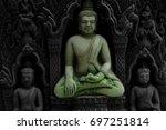 god statue | Shutterstock . vector #697251814