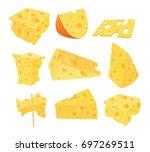 set cartoon illustration....   Shutterstock . vector #697269511