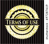 terms of use golden badge