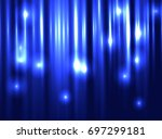 abstract lights background.... | Shutterstock .eps vector #697299181