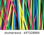 colorful | Shutterstock . vector #697328884