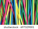 colorful | Shutterstock . vector #697329001