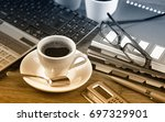 business accounting | Shutterstock . vector #697329901