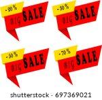 sale. vector illustrations for... | Shutterstock .eps vector #697369021