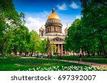 Isaac Cathedral In St...