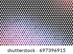 dark multicolor  rainbow vector ... | Shutterstock .eps vector #697396915