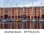 clipper fleet lined up in the...   Shutterstock . vector #697412131