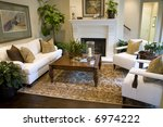 spacious living room with... | Shutterstock . vector #6974222