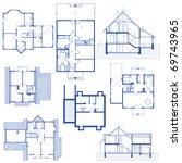 architectural background. jpg... | Shutterstock .eps vector #69743965
