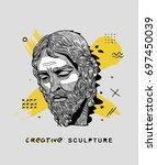 creative modern classical... | Shutterstock .eps vector #697450039