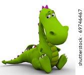 Dino Baby Dragon So Sad