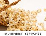 popcorn   Shutterstock . vector #697493491