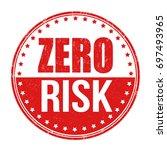 zero risk grunge rubber stamp...   Shutterstock .eps vector #697493965