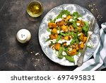Autumn Pumpkin Salad With Feta...