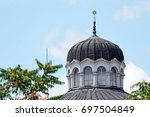 detail from the sofia synagogue ... | Shutterstock . vector #697504849