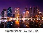 modern city at night | Shutterstock . vector #69751342
