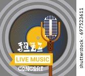 jazz festival live music...   Shutterstock .eps vector #697523611