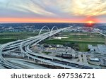 sunset at the edge of the... | Shutterstock . vector #697536721