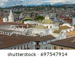 aerial view of the historic... | Shutterstock . vector #697547914