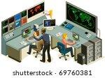 control center. | Shutterstock .eps vector #69760381