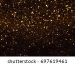 Golden Overlay Background Of...