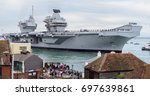Hms Queen Elizabeth Enters...
