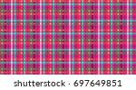 geometric shape pattern | Shutterstock . vector #697649851