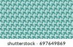 geometric shape pattern | Shutterstock . vector #697649869