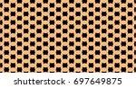 geometric shape pattern | Shutterstock . vector #697649875