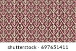 geometric shape pattern | Shutterstock . vector #697651411
