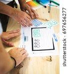 design team planning a website...