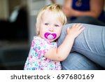 Little Girl Toddler With...